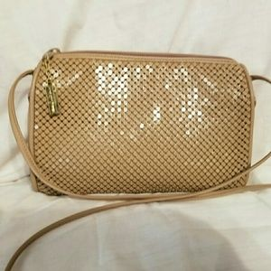 Whiting & Davis mesh vintage purse